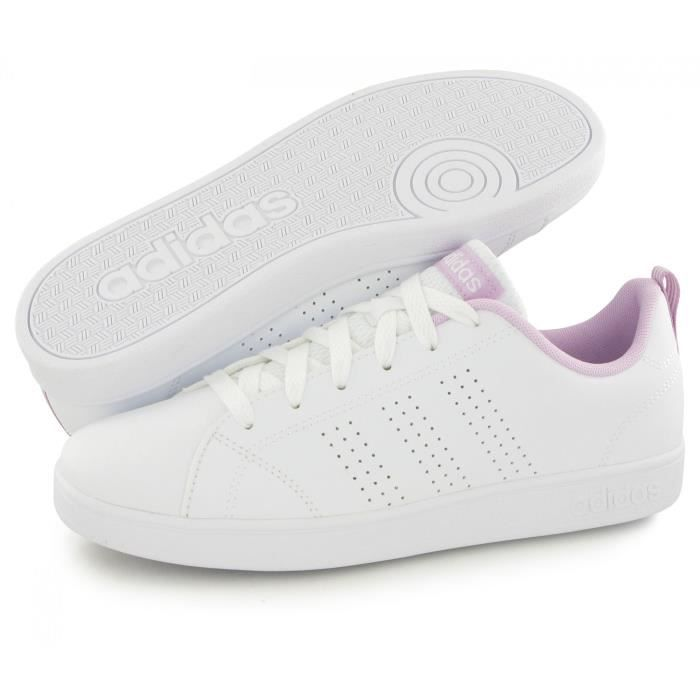 Adidas Neo Advantage Clean blanc, baskets mode mixte