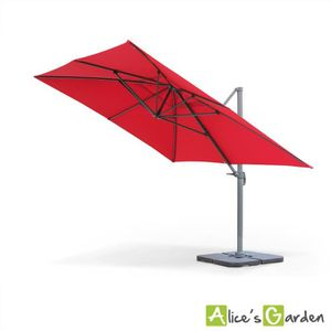 parasol d port 4x3 achat vente parasol d port 4x3 pas cher cdiscount. Black Bedroom Furniture Sets. Home Design Ideas