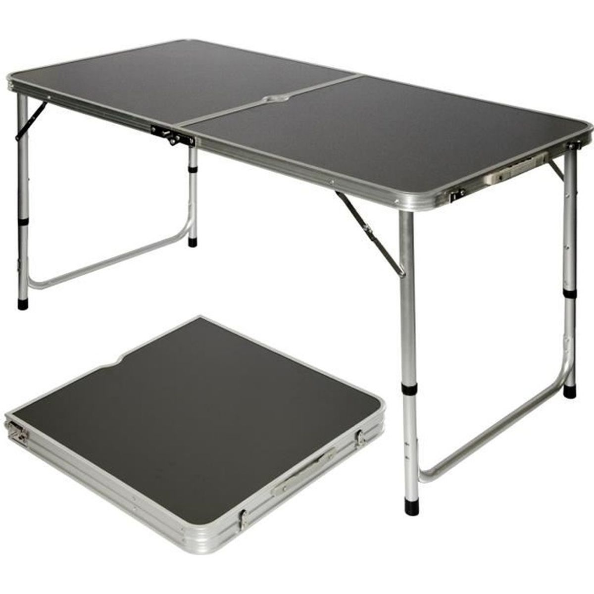 Amanka table de camping portable pliante en mallette - Table de bridge pliante ...