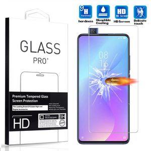 FILM PROTECT. TÉLÉPHONE [1 Pack] Verre Trempé Xiaomi Mi 9T Pro (6.39