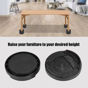 PIED DE TABLE 8pcs/set Pieds Augmentation en hauteur pour Table