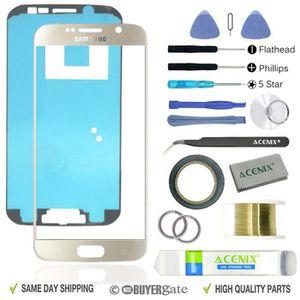 Accessoire - pièce PDA SAMSUNG GALAXY S6 Or Remplacement Écran Avant Kit