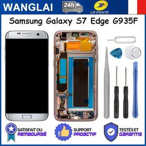 ECRAN DE TÉLÉPHONE écran LCD pour Samsung Galaxy S7 Edge G935F vitre