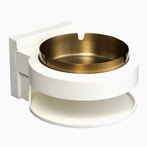 Salle de bains miniature Serviette Support-métal avec deux serviettes 1:12