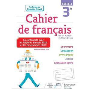 Cahier De Francais
