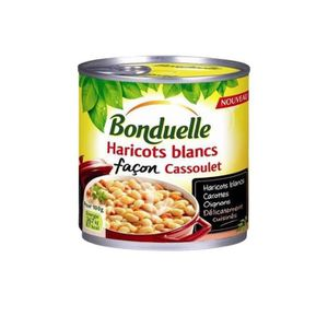 CONSERVE AUTRES LÉGUMES Bonduelle Haricots Blancs Cuisinés Façon Cassoulet
