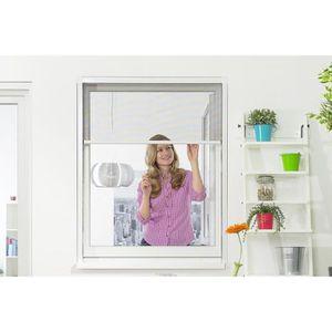 MOUSTIQUAIRE OUVERTURE Moustiquaire Enroulable Fenêtre SMART Alu Blanc L1