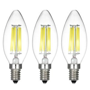 AMPOULE - LED Paquet de 3 ampoules 6W ST64 LED E14 Dimmable Edis