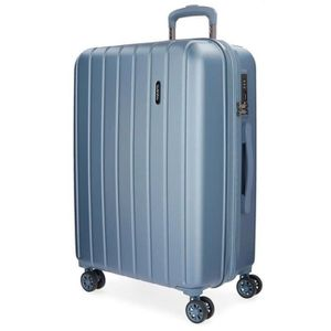 VALISE - BAGAGE Wood Valise, 75 cm, 109 liters, Bleu (Azul)