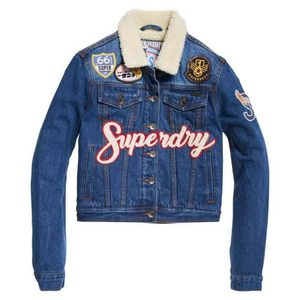 BLOUSON Vêtements femme Vestes Superdry Borg Girlfriend