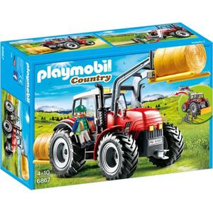 UNIVERS MINIATURE PLAYMOBIL 6867 - Country - Grand tracteur