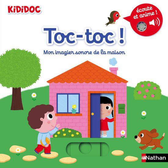 Livre Toc Toc Mon Imagier Sonore De La Maison