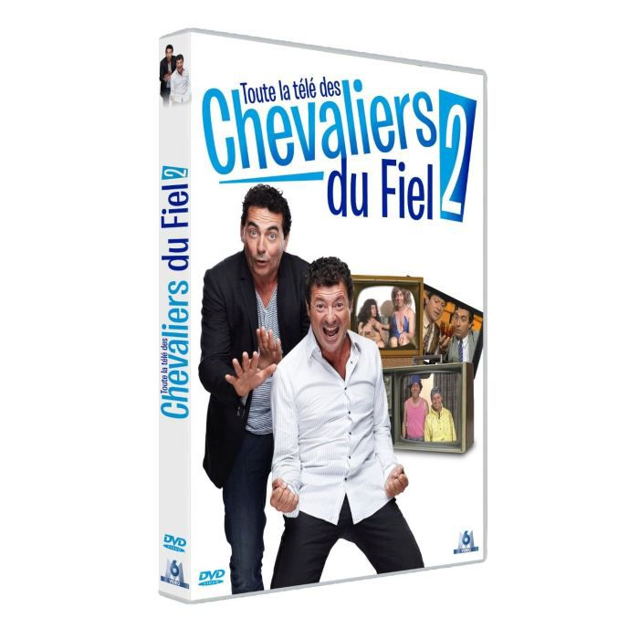 dvd coffret best of tv les chevaliers du fiel en dvd. Black Bedroom Furniture Sets. Home Design Ideas