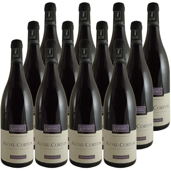 VIN ROUGE Aloxe-Corton Vieilles Vignes Rouge 2018 - Domaine Cauvard - Vin AOC Rouge de Bourgogne - Lot de 12x75cl - C&eacutepag150