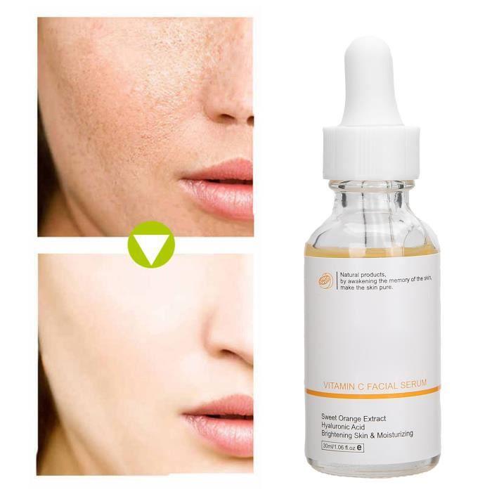 PAR-Sérum blanchissant à la vitamine C Sérum éclaircissant éclaircissant pour le visage à la vitamine C Solution sérum