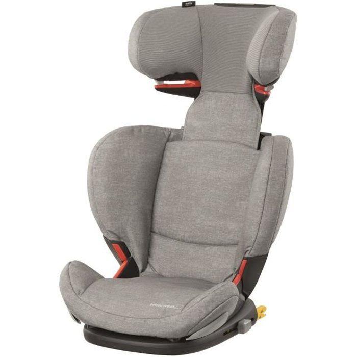 BEBE CONFORT Siège auto Rodifix AirProtect Groupe 2/3, De 3,5 ans à 12 ans - Isofix - Nomad Grey
