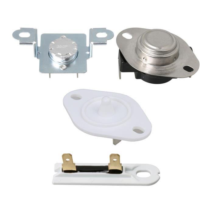 Kit de fusible thermique de sécheuse 279973 + fusible WP3392519 + pièces de bricolage de thermistance 8577274