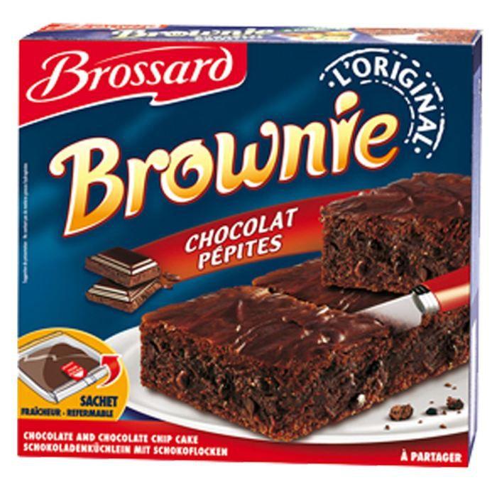 Brownie aux pépites de chocolat 285g Brossard