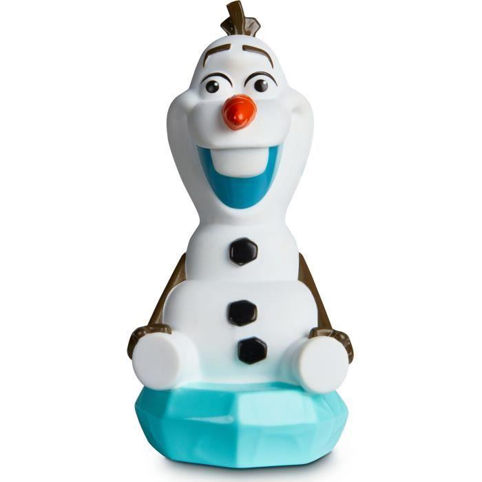 Disney La Reine des Neiges Olaf - Veilleuse et lampe torche GoGlow Buddy