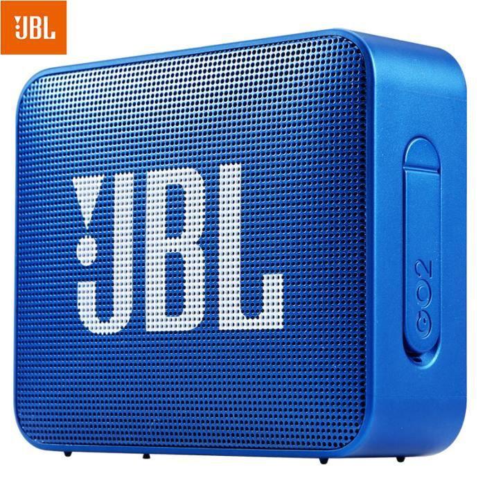 JBL GO 2 Enceinte Bluetooth Etanche Portable-Bleu foncé