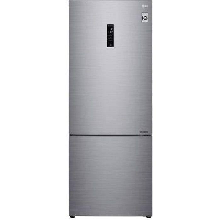 Réfrigérateur Combiné Inversé Lg Gbb 566 Pzhzn