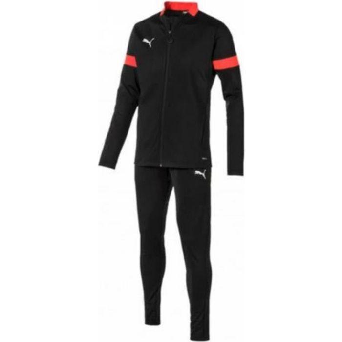 Jogging Homme Puma Noir et Rouge