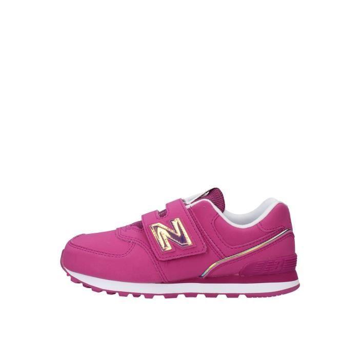 New Balance YV574MTP chaussures de tennis faible Enfant ROSE