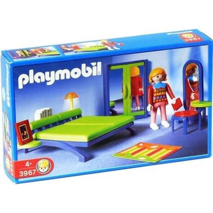 PLAYMOBIL ® 3967 CHAMBRE MAISON MODERNE