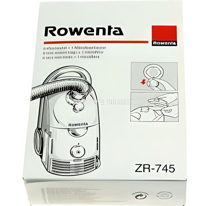 Sachet de sacs rowenta dymbo pour aspirateur RO…