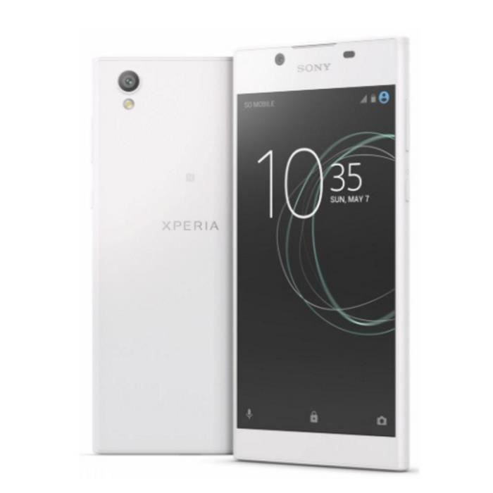 Sony Xperia L1 Dual Sim 4G 16Go blanc smartphone débloqué