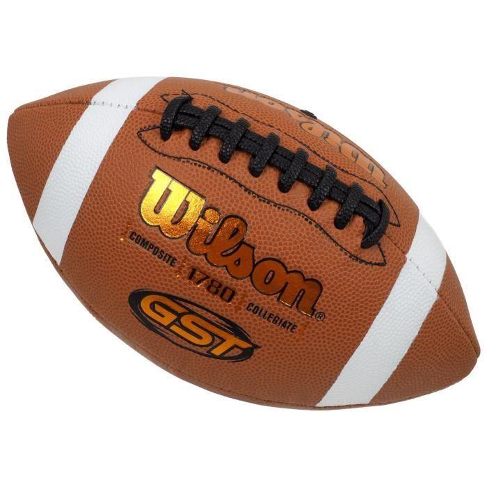 Ballon  football américain Gst composite off footbal - Wilson UNI Orange