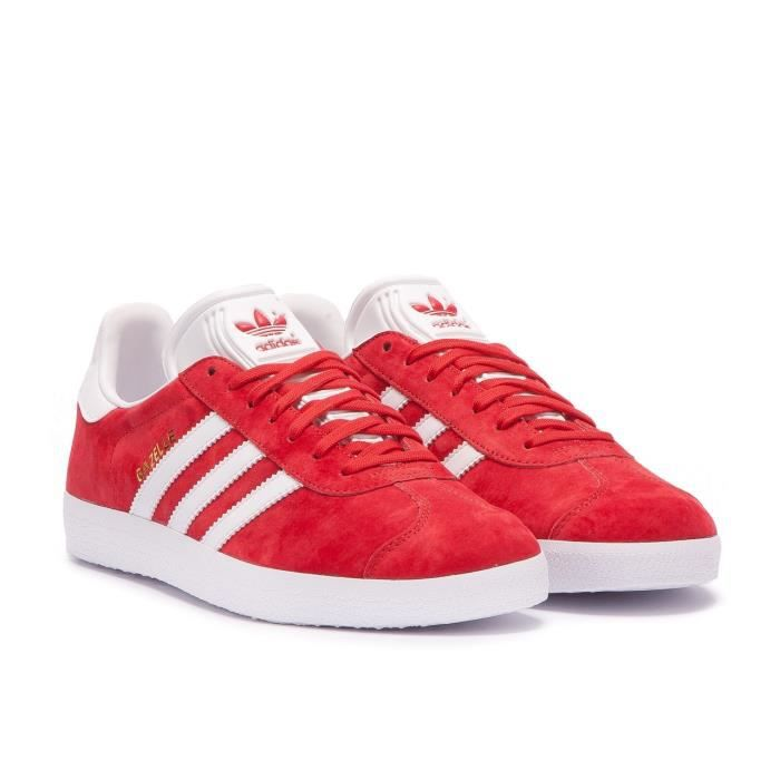 Gazelle rouge homme Taille 42 2/3 - Achat / Vente basket ...