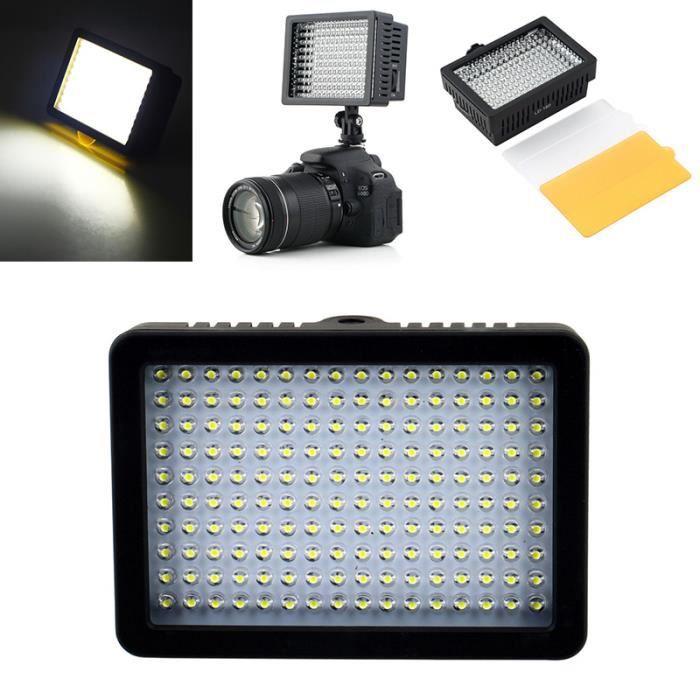 Mini Lampe Led De Photographie 160 Led Studio Video Pour Canon Nikon Camera Dv Camcorder Photography B9 Cdiscount Appareil Photo