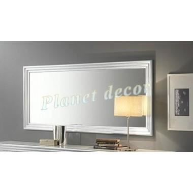 miroir model silver argent l190cm achat vente miroir cdiscount. Black Bedroom Furniture Sets. Home Design Ideas