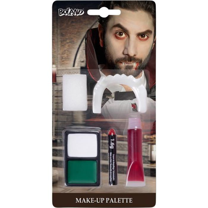 Ou Acheter Maquillage Halloween.Maquillage Halloween Vampire Cdiscount