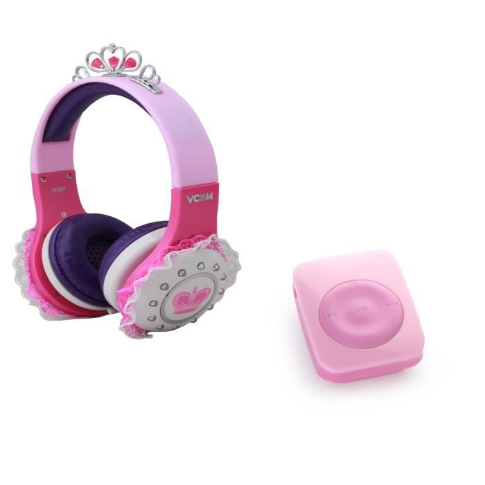 casque princesse enfant pour lecteur mp3 lenco xemio 253. Black Bedroom Furniture Sets. Home Design Ideas