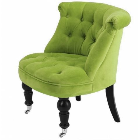 fauteuil crapaud capiton velours vert achat vente. Black Bedroom Furniture Sets. Home Design Ideas