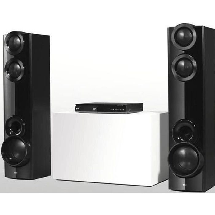 home cinema lg 1000w achat vente home cinema lg 1000w pas cher cdiscount. Black Bedroom Furniture Sets. Home Design Ideas