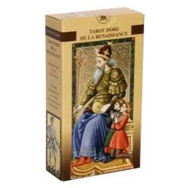 CARTES DE JEU Tarot Dore De la Renaissance - 78 Cartes Or