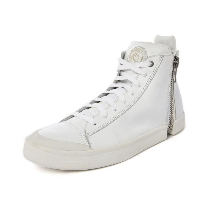 Baskets Montantes Zip All Over Blanc S-Nentish pour homme Blanc ... e118678a859b