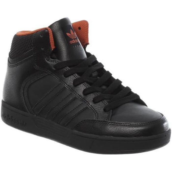 BASKET Chaussure Enfant Adidas Varial Mid J Core Noir-Nat