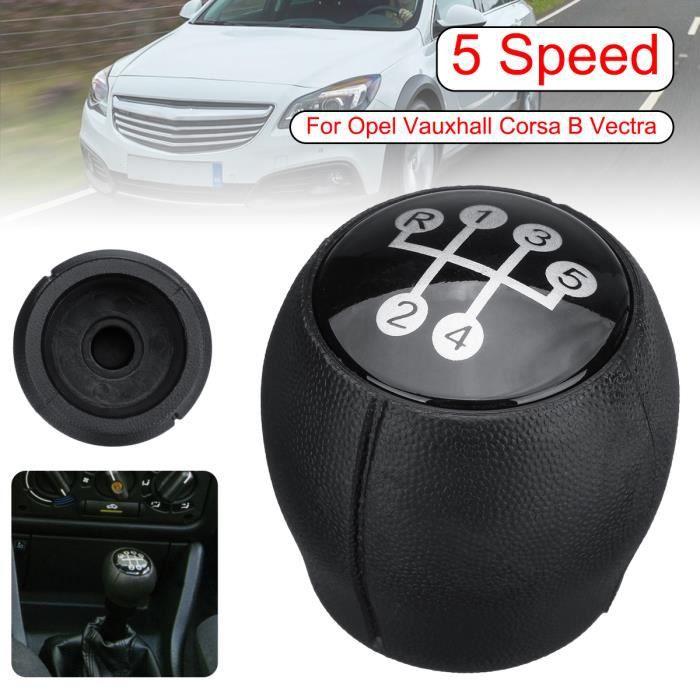 5 Vitesses Pommeau Pommeau Poignée Levier pour Opel Corsa Astra Vectra Zafira