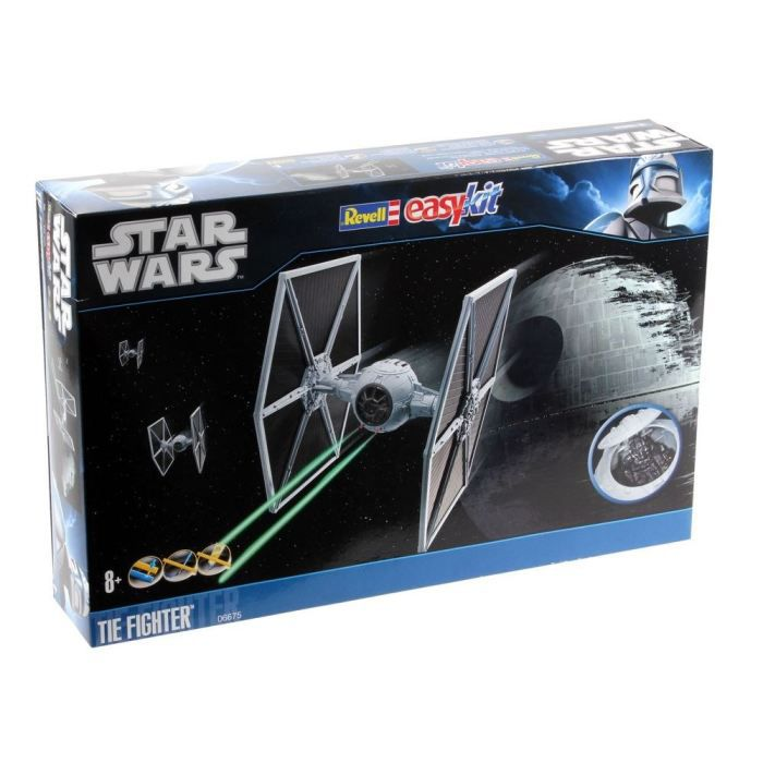 Tie Fighter Revell Easy kit Maquette-tie-fighter-1-65-revell
