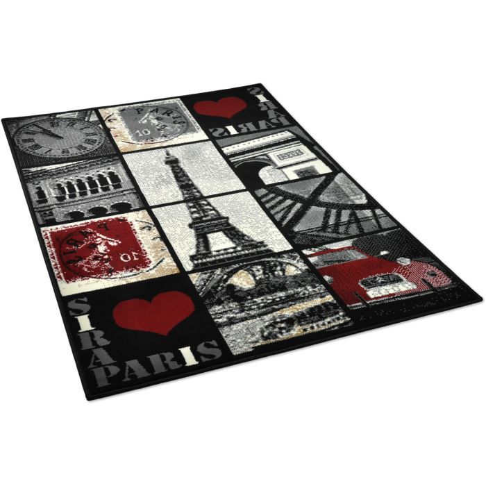tapis multicolore les bons plans de micromonde. Black Bedroom Furniture Sets. Home Design Ideas