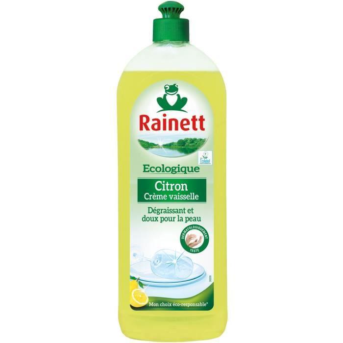 LIQUIDE VAISSELLE RAINETT Liquide vaisselle main Écologique - Citron