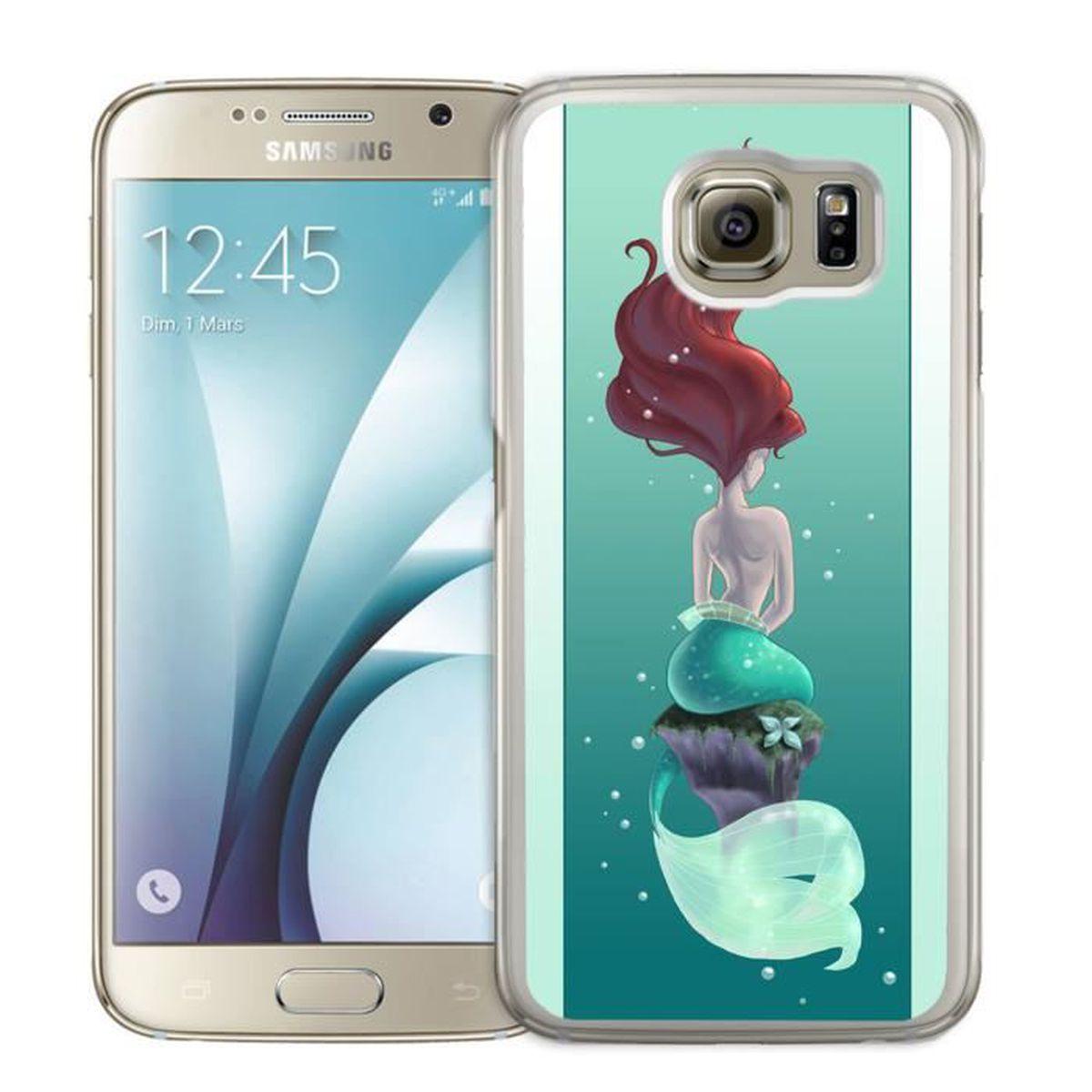 Coque Samsung Galaxy S7 : Ariel Petite Sirene