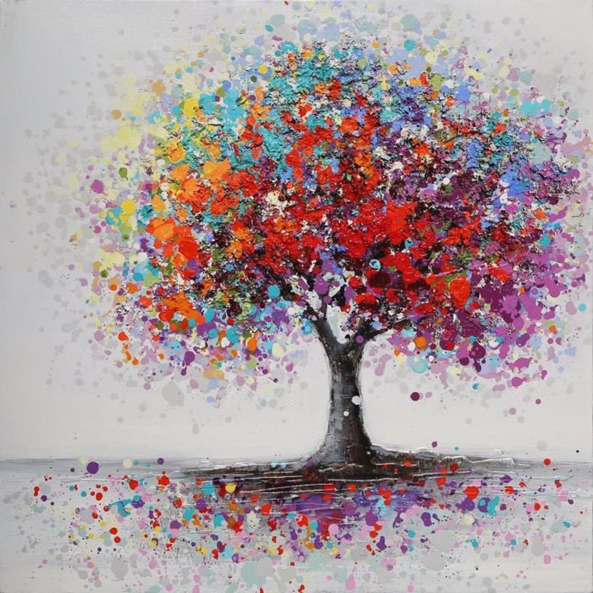 Tempsa dessin d 39 ornement motif d 39 arbre color pour maison for Pintura color albero