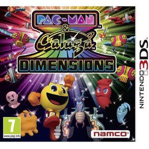 JEU 3DS Pac-Man & Galaga Dimensions Jeu 3DS