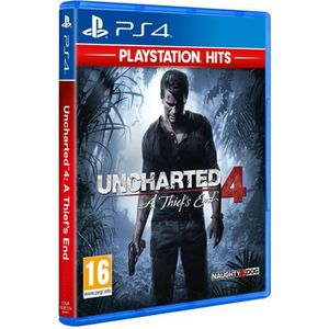 JEU PS4 Uncharted 4 A Thief's End PlayStation Hits Jeu PS4