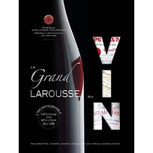 LIVRE VIN ALCOOL  Le grand Larousse du vin